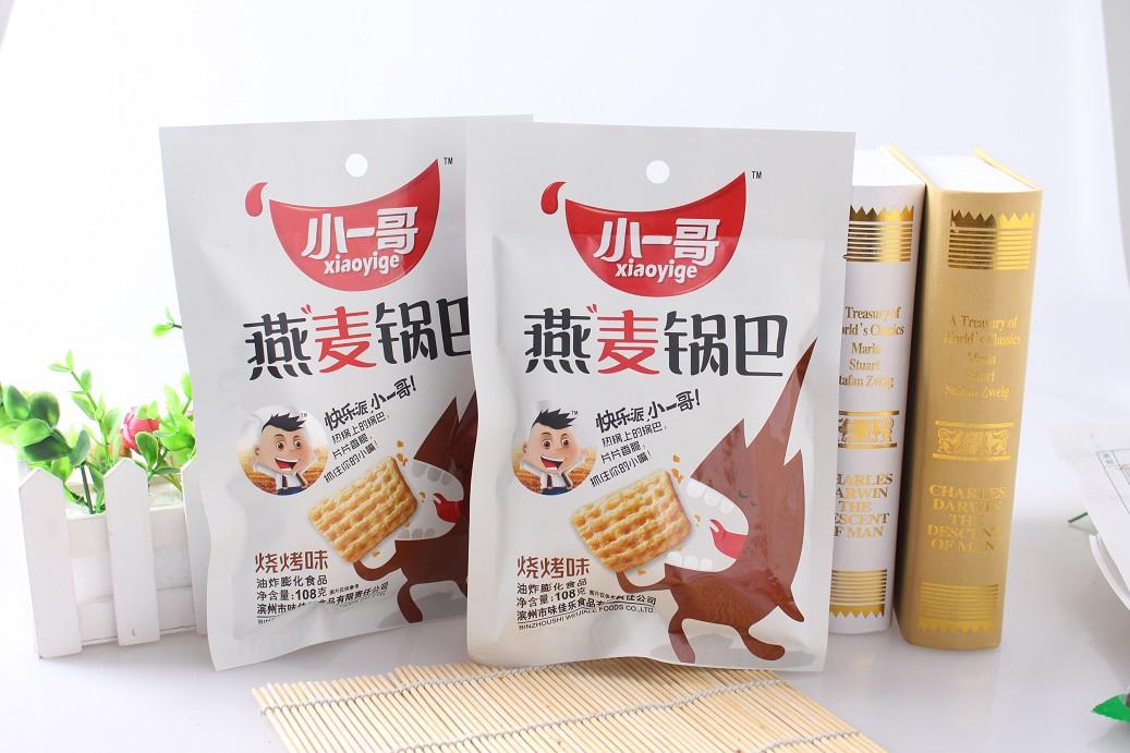 燕麦锅巴——烧烤味108g